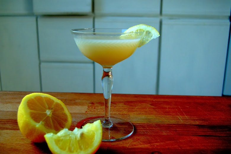 Meyer Lemon Curd Martini (aka Lemon Drop) | Just Jan's Jam