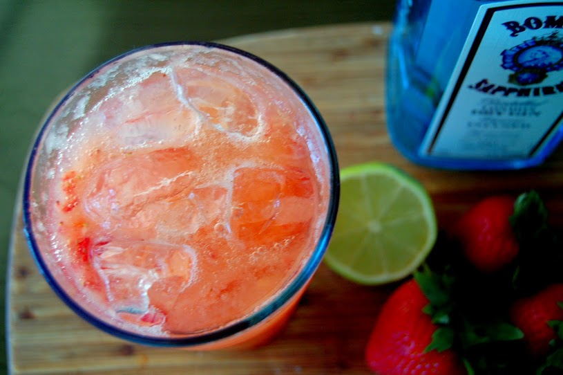 Strawberry Gin And Tonic A Twist Just Jan S